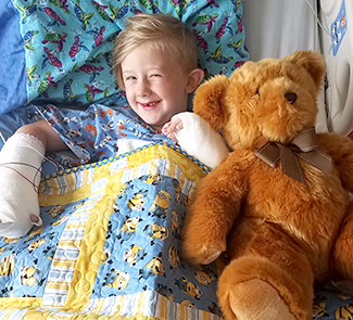 Alden's Story: 6-Year-Old Patient Collects Piles of Pull-Tabs to Help Other Kids