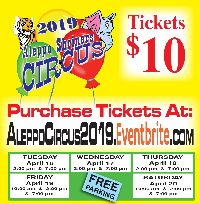 Aleppo Shriners Circus 2019 Breaking News