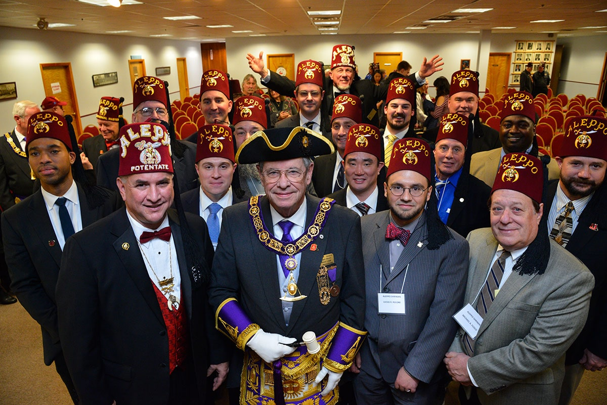Shriners Are Masons: Illustrious Robert Havener