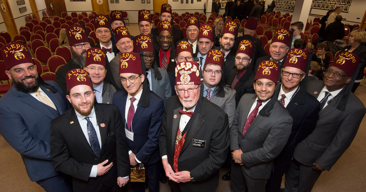 We Are Family, We Are Masons, We Are Shriners!