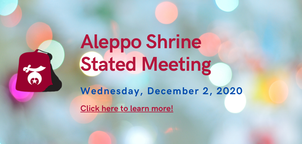 Stated Meeting, Wednesday, December 2, 2020