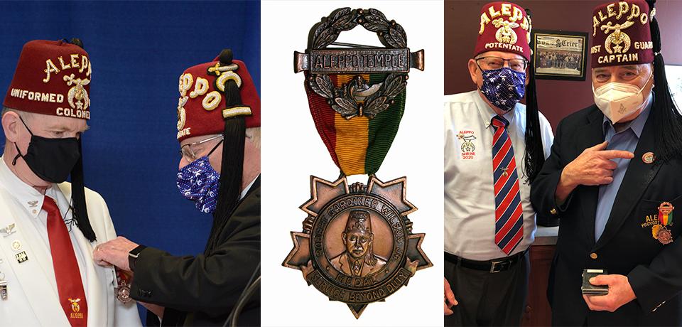 2021 Robert Gardner Wilson, Jr. Medal Recipients